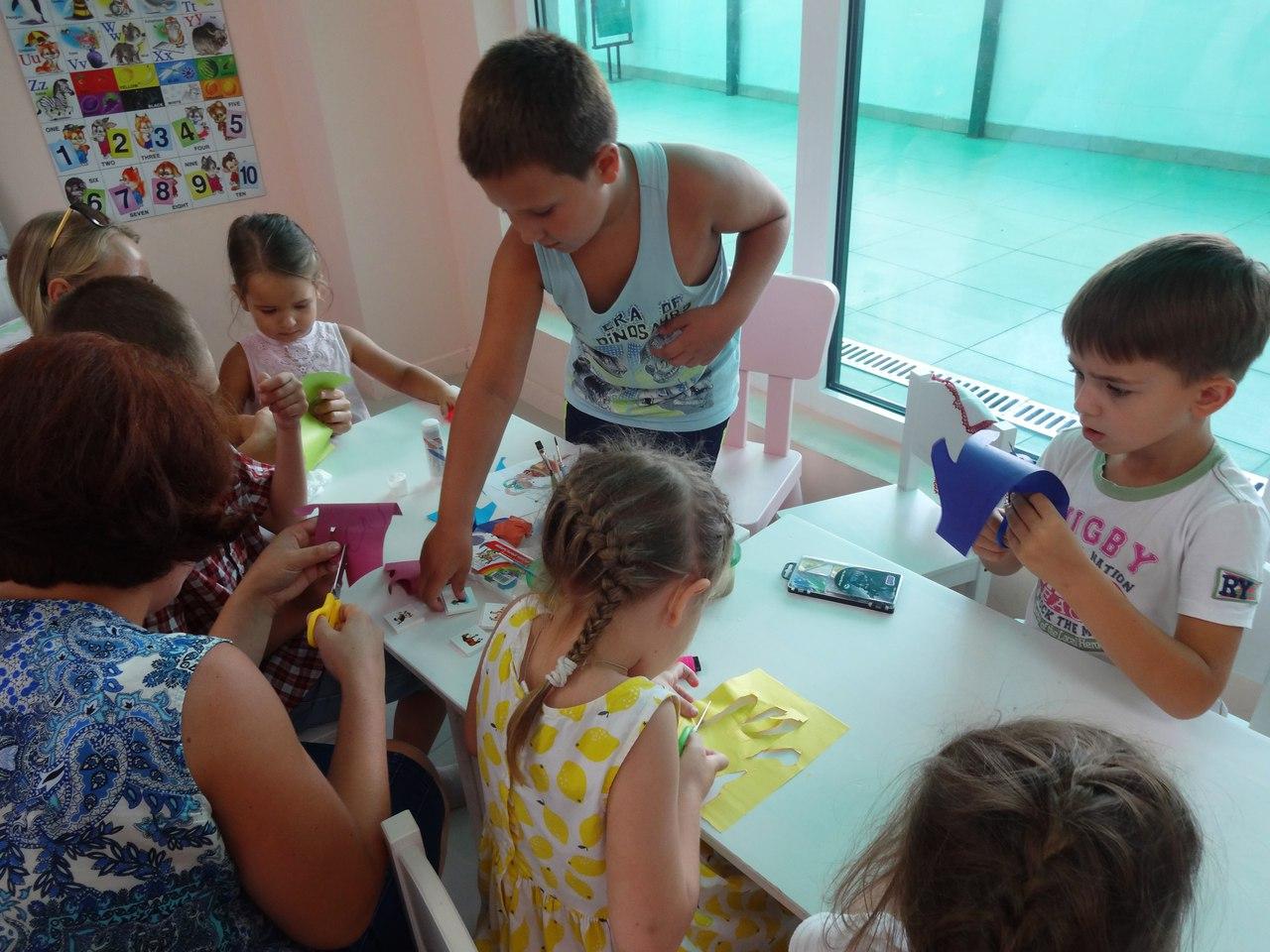 Развивающие занятия с детьми