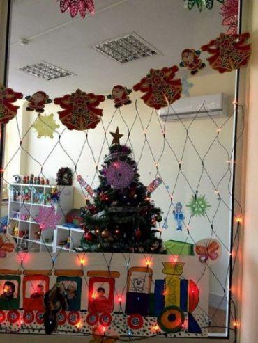 Детский центр «Умка» поздравляет с  Новым 2018 Годом!
